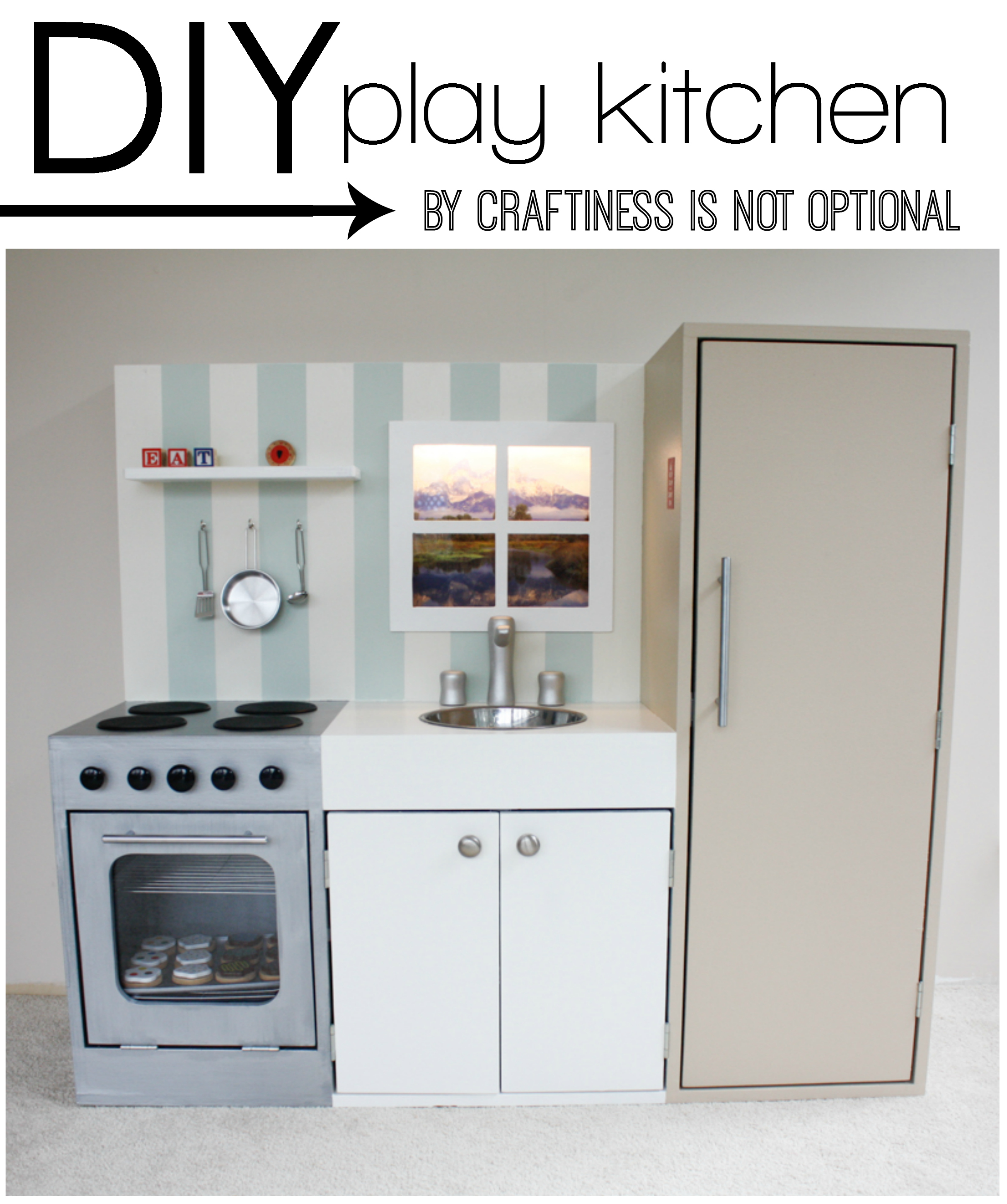diy play kitchen