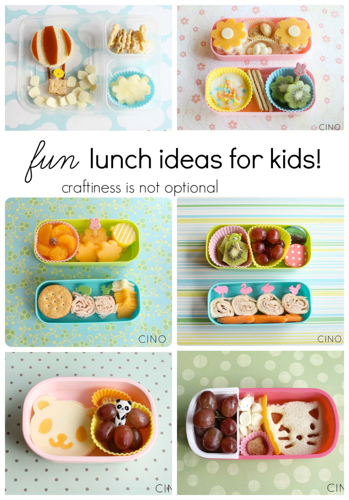 fun lunch ideas for kids!