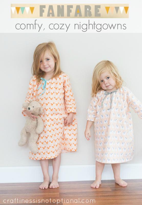 fanfare flannel nightgowns