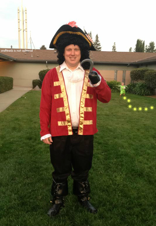 aye aye captain hook costume by craftiness is not optional