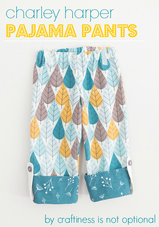charley harper pj pants by craftiness is not optional