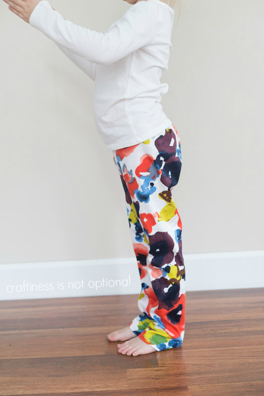 floral hosh pants by craftiness is not optional