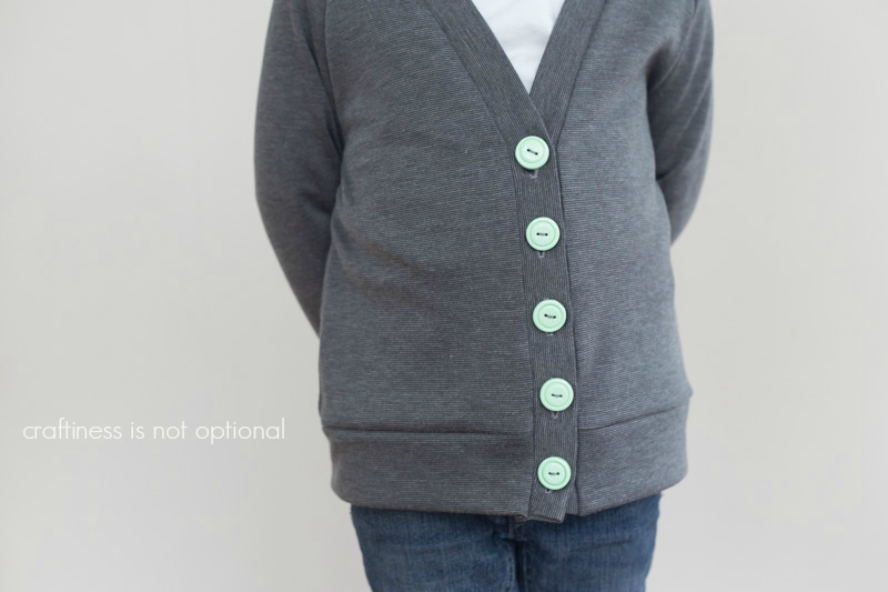 grey greenpoint cardi by craftiness is not optional
