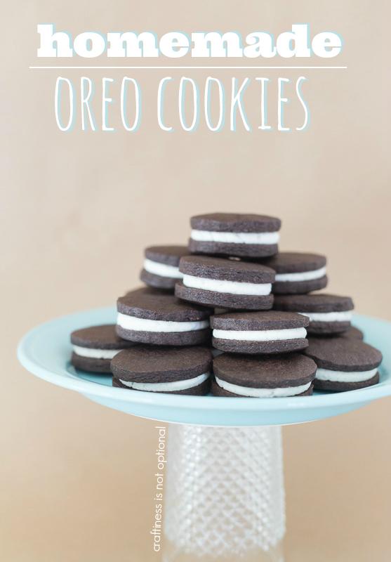 homemade oreo cookies craftinessisnotoptional