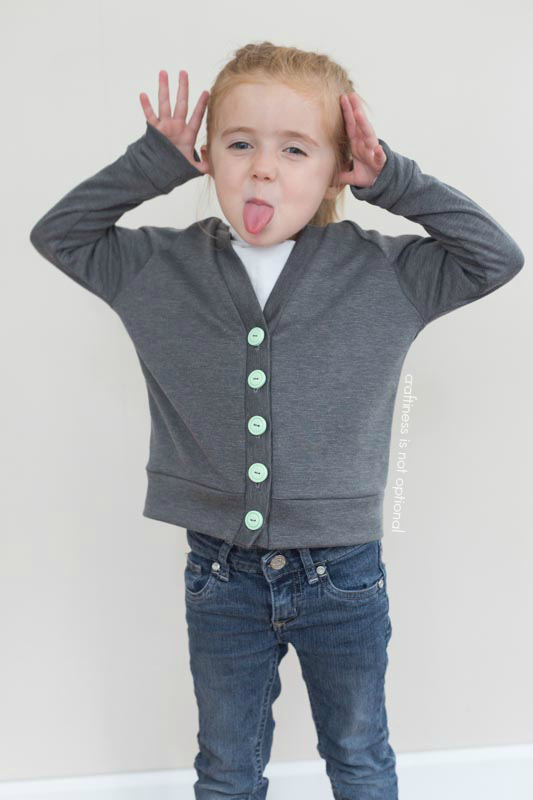 silly grey mint greenpoint cardi by craftiness is not optional