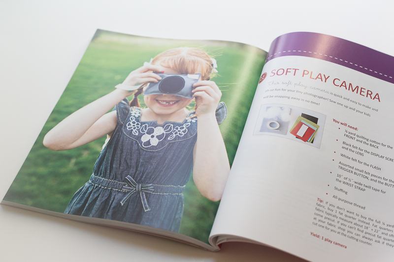 play camera simple sewing book by katie lewis