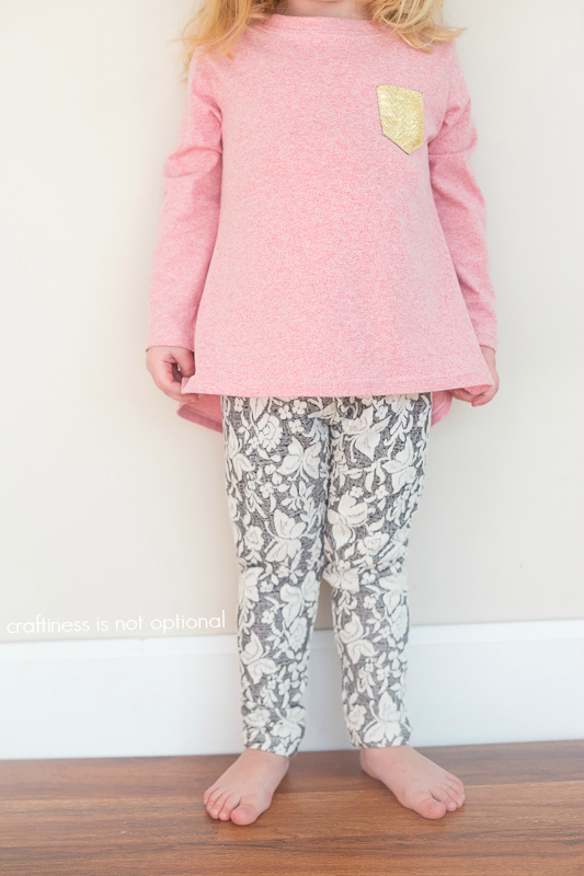 nessie top and go to leggings sewn by craftiness is not optional