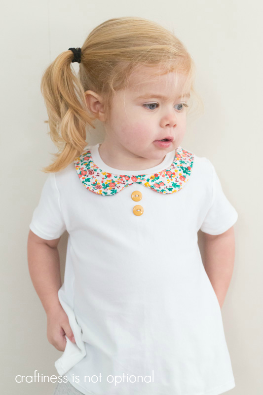 peter pan collar nessie top  craftiness is not optional