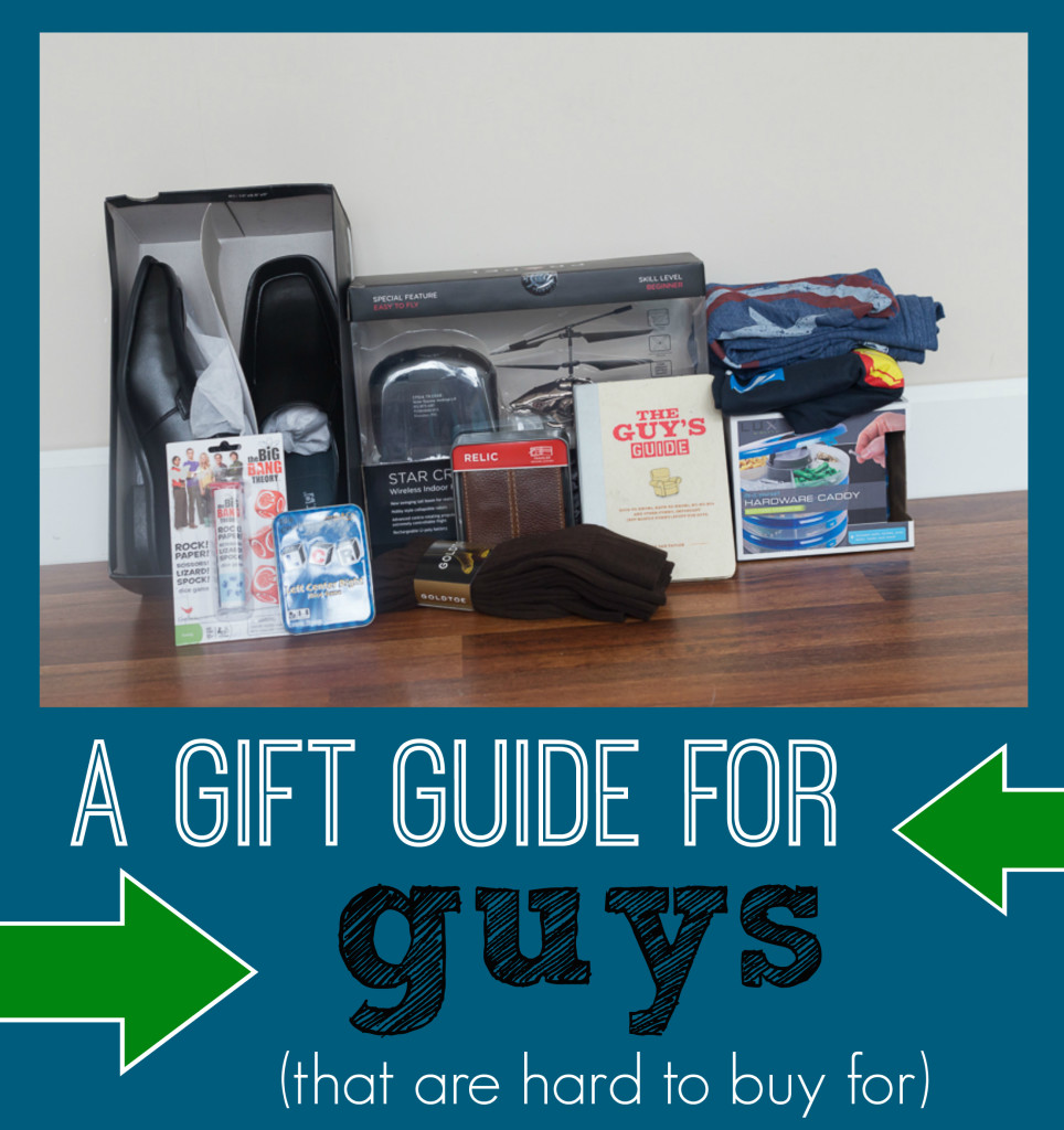 gift guide for guys (that are hard to buy for)