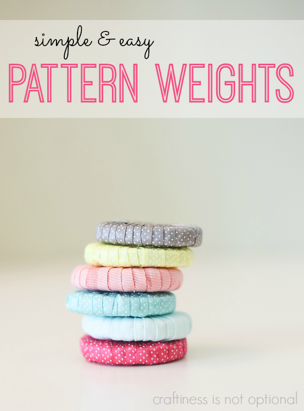 simple and easy pattern weights