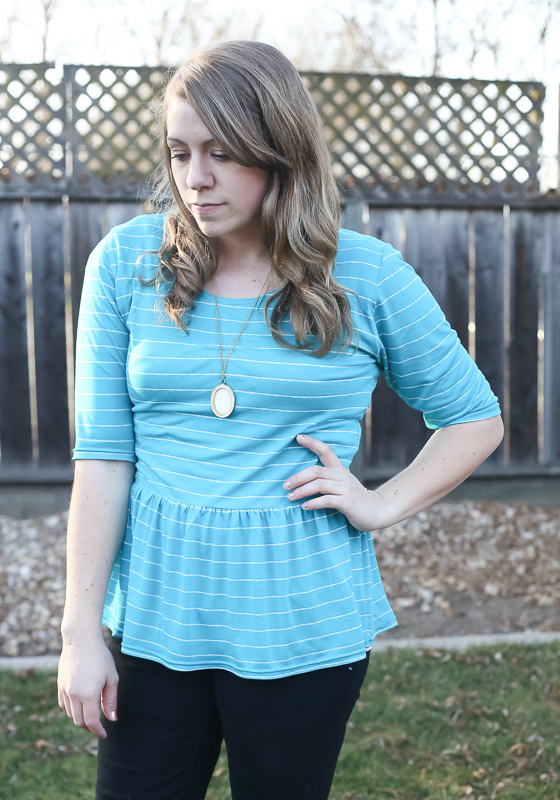 penelope peplum sewn by craftiness is not optional