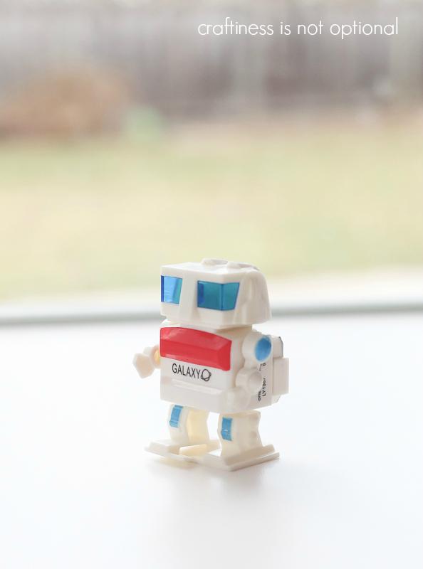 FREE  printable Robot Valentine!