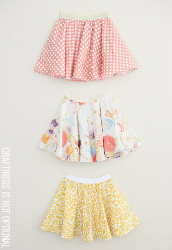 twirly twirly circle skirts