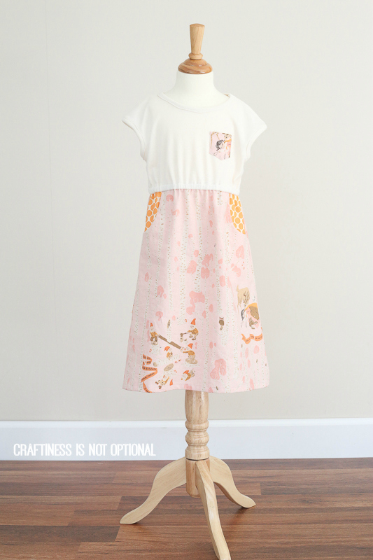 Snow White Lulu dress || craftiness is not optional