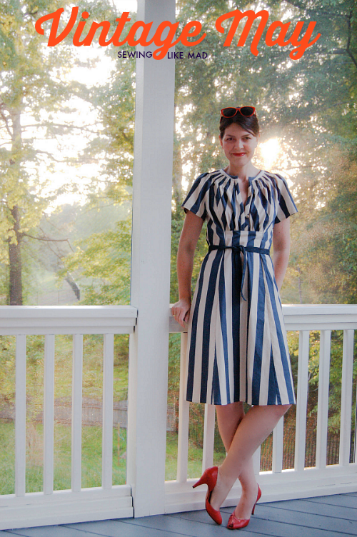 sewing like mad for vintage may