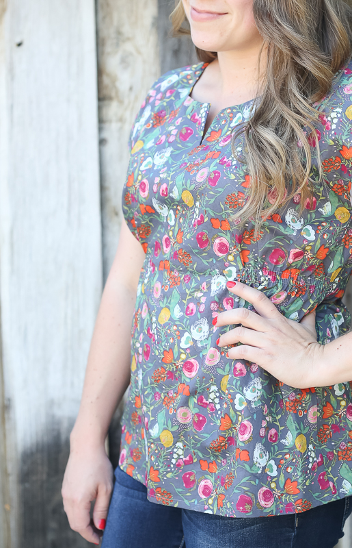bianca top || sewn by craftiness is not optional
