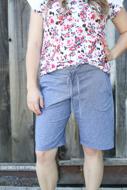 essential shorts and some hemlock tees