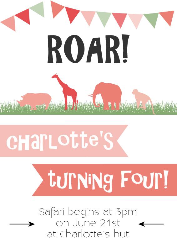 roar-party-invite