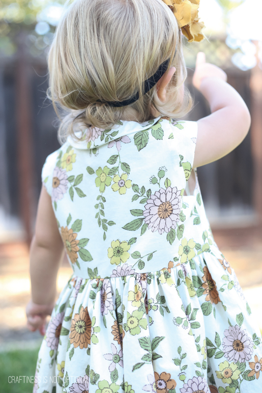 5 and 10 designs dainty floral dress \\ craftiness is not optional