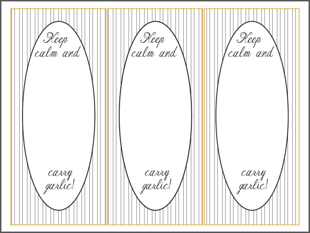 keepcalmandcarrygarlic printable CINO
