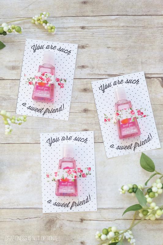 DIY friend Valentine & FREE printable!