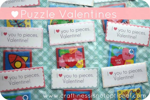 puzzle valentine idea!