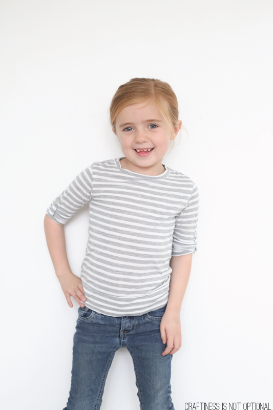 Kids Clothes Week: upcycled knit tees