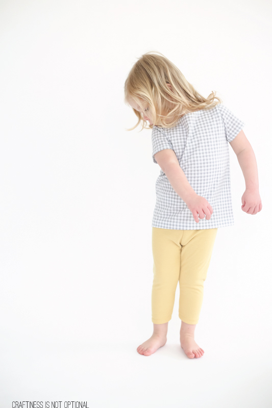 a cute and colorful girls capsule wardrobe