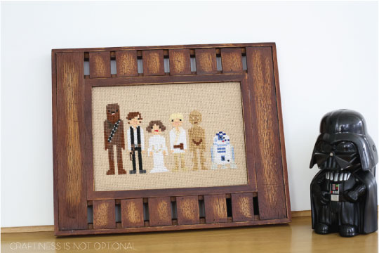 star wars cross stitch