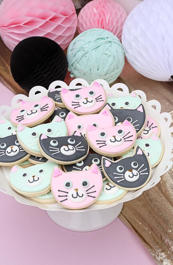 kitty cat birthday party!