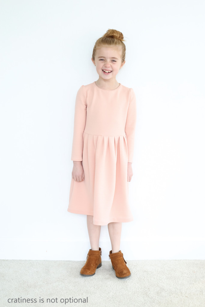 peachy coral kensington dress