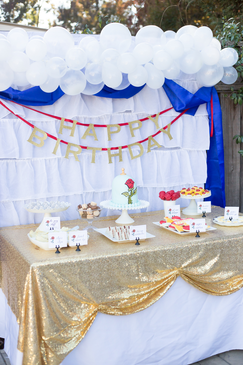 Awe Inspiring Beauty And The Beast Birthday Party Download Free Architecture Designs Scobabritishbridgeorg