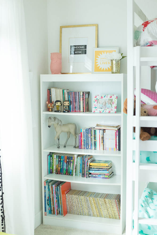 updated girls room
