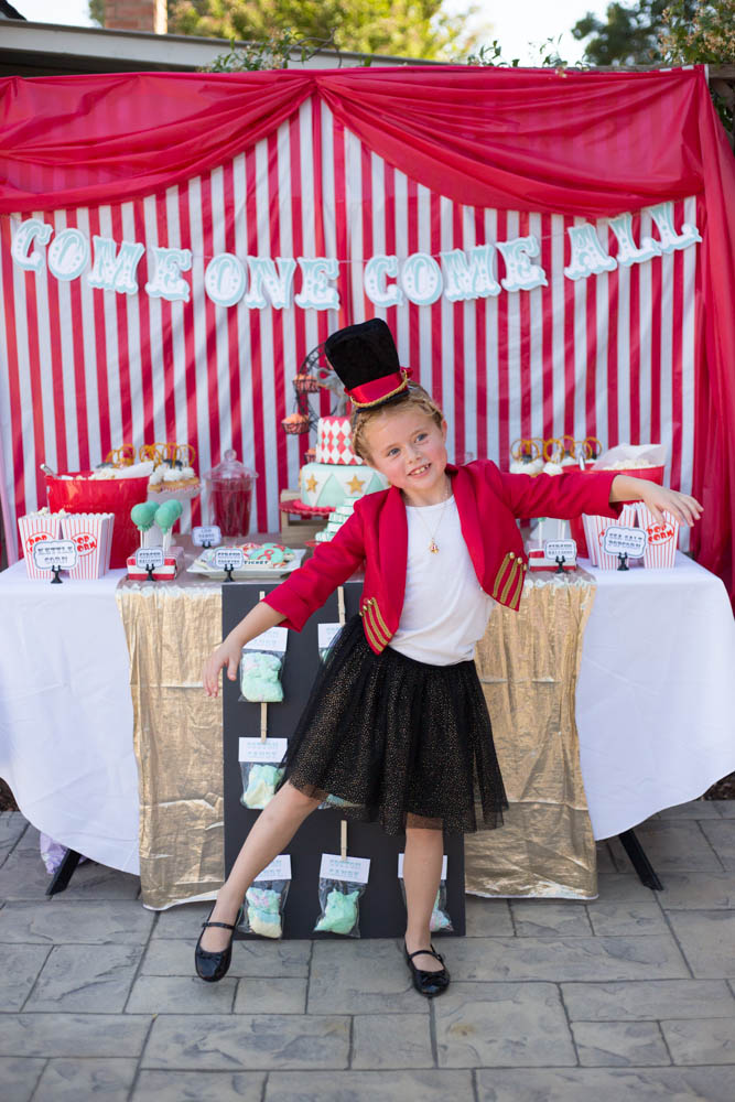 Greatest Showman Circus Party