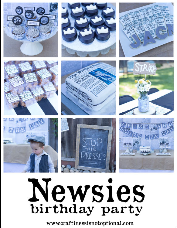 newsies-party-pic
